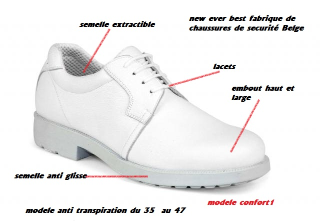 Securite New Blanche Best Sécurité Ever Chaussures De RwUqfpf5